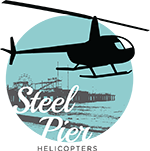 Steel Pier Helicopters Logo